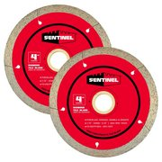 Sentinel 4in. Tile Blade 2-pack