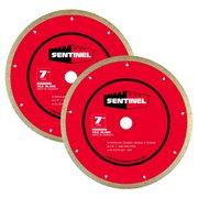 Sentinel 7in. Tile Blade 2-pack