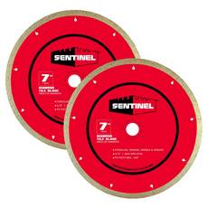 Sentinel 7in. Tile Blade 2-pack
