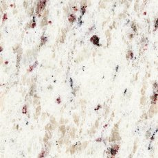 Ready to Install Ornamental White Granite Slab Includes Backsplash