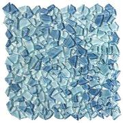 Paradise Bay Pebble Glass Mosaic