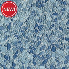 New! Paradise Bay Pebble Glass Mosaic