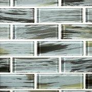 Montauk Bluff 2 x 6 in. Brick Glass Mosaic
