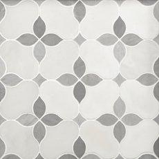 Iris Gris Polished Marble Mosaic