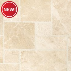 New! Cappuccino Brushed Marble Tile