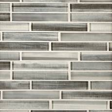 Mountain Mist Linear Glass Mosaic