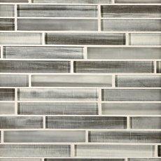 Mountain Mist Linear Glass Mosaic