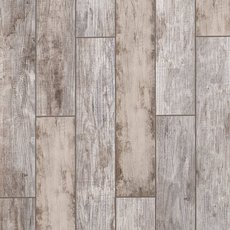 Arden Manor White Wood Plank Porcelain Tile