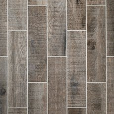 Raleigh Grey Wood Plank Porcelain Tile
