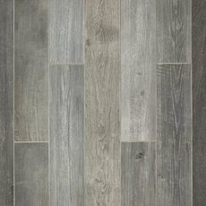 Woodhaven Grey Wood Plank Porcelain Tile
