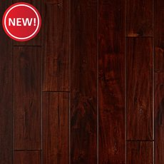 New! Lavella Mahogany Handscraped Solid Hardwood