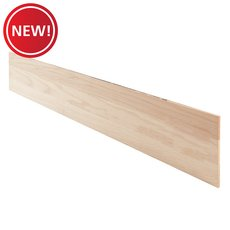 New! Red Oak Unfinished Retro Stair Riser - 48 in.