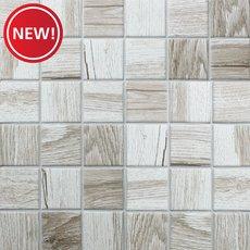 New! Drift Matte 2 in. Square Porcelain Mosaic