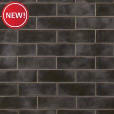 New! Army Black Polished Ceramic Tile