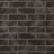 Army Black Polished Ceramic Tile