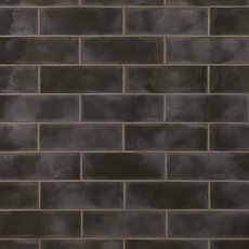 Army Black Polished Ceramic Tile