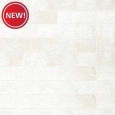 New! Santorini White Polished Marble Tile