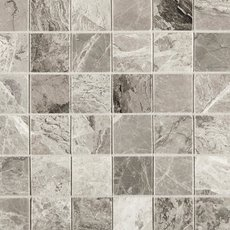 City Gray 2 in. Square Polished Mosaic