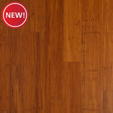New! Mocha Wire Brushed Locking Stranded Engineered Bamboo