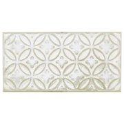 Patina White Polished Porcelain Tile
