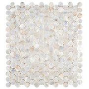 Mother of Pearl Penny Mosaic