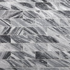 Bardiglio Polished Marble Tile