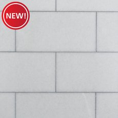 New! Pure White Polished Marble Tile