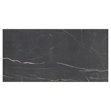 Overture Nero Polished Porcelain Tile
