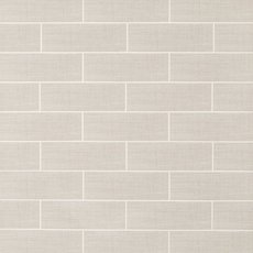White Cotton Linen Polished Ceramic Tile