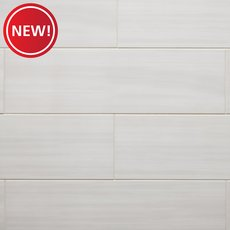 New! Pearl Veincut Polished Ceramic Tile