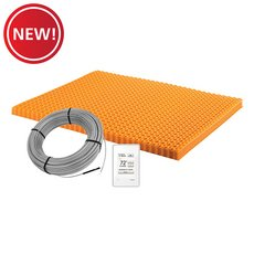 New! Schluter Ditra-Heat Kit 60.3 Sf Matt and 37.5 Sf Cable Wifi