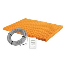 Schluter Ditra-Heat Kit 60.3 Sf Matt and 37.5 Sf Cable Wifi