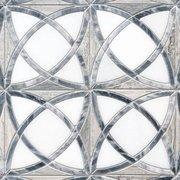Dara Valentino Azul and Bardiglio Waterjet Mosaic