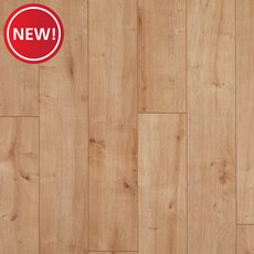 New! Lambent Blonde Oak Water-Resistant Laminate