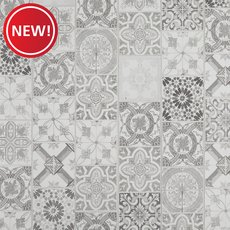 New! Abbot Tile Grey Water-Resistant Laminate