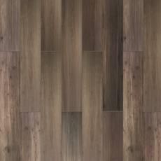 Woodville Marron Wood Plank Porcelain Tile