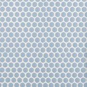 Blue Bliss Polished Porcelain Penny Mosaic
