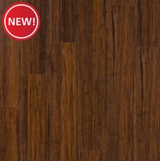 New! Heritage Bamboo Rigid Core Luxury Vinyl Plank - Foam Back