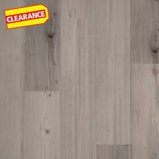 Clearance! Sea Salt Pine Rigid Core Luxury Vinyl Plank - Foam Back