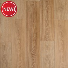 New! Classic Camel Oak Rigid Core Luxury Vinyl Plank - Foam Back