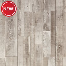 New! Dockside Oak Rigid Core Luxury Vinyl Plank - Cork Back