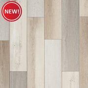 Farmhouse Medley Rigid Core Luxury Vinyl Plank - Cork Back