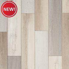 New! Farmhouse Medley Rigid Core Luxury Vinyl Plank - Cork Back