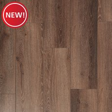 New! Mocha Ceruse Rigid Core Luxury Vinyl Plank - Cork Back
