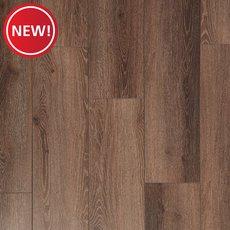 New! Mocha Ceruse Rigid Core Luxury Vinyl Plank - Cork Back