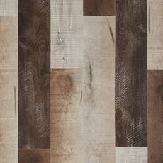 Barnwood Medley Rigid Core Luxury Vinyl Plank - Cork Back