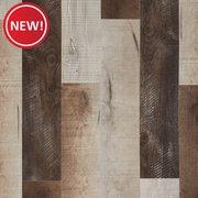 Barnwood Medley Rigid Core Luxury Vinyl Plank - Cork Back