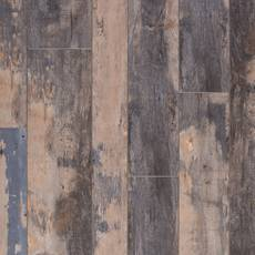 Rustic Blue Haze Rigid Core Luxury Vinyl Plank - Cork Back