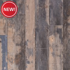 New! Rustic Blue Haze Rigid Core Luxury Vinyl Plank - Cork Back