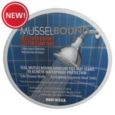 New! MusselBound Waterproofing System Seam Tape